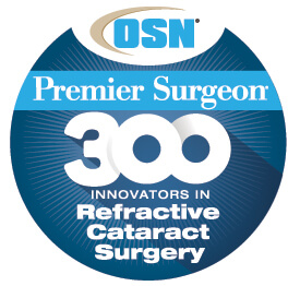 Tal Raviv MD honored as one of the best cataract & refractive surgeons in the country.